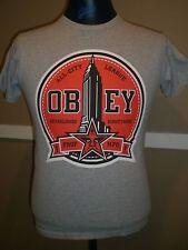 Mens Obey Propaganda S/S T-Shirt Size Small (S) All-City League