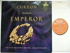 CURZON PLAYS BEETHOVEN EMPEROR CONCERTO VPO KNAPPERTSBUSCH DECCA LXT 5391