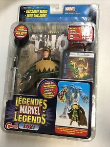 Marvel Legends Onslaught Series Crown of Lies Loki Variant Figure - Toybiz