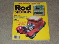 May 1981 Rod Action Magazine,1934 Ford Sedan, 1932 Ford Sedan, Turbochargers