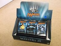 MAGIC THE GATHERING MASTERS 25 BOOSTER 1/2 BOX LOT = 12 PACKS LIVE SAME DAY SHIP