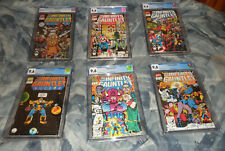 Infinity Gauntlet #1-6 CGC 9.6 Complete Set Thanos Avengers END GAME