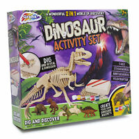 Dinosaur Activity Set - Kids Science Experiment Games for Children Boys Girls 7+