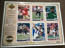 1992 Upper Deck Limited Edition Commemorative Football Sheet/Montana/Singletary