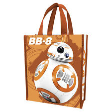 "New STAR WARS Grocery Shopping Tote BB-8 ROBOT Gift Bag Shopper 12""x10"" DISNEY"