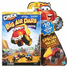 Tonka Chuck & Friends Big Air Dare DVD Movie And Bonus Toy Truck ~ NEW