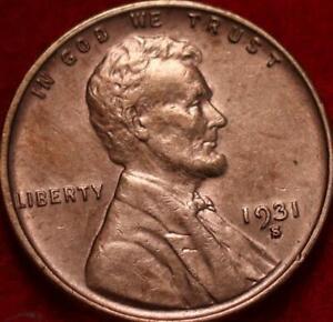 1931-S San Francisco Mint Copper Lincoln Wheat Cent