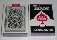 1 deck of Arrco Tahoe WHITE playing cards RED seal -S099952912-A