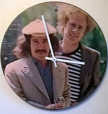 "Simon and garfunkle greatest Hits Album Clock 11.5"" round battery operated"