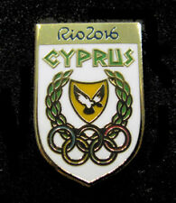 2016 RIO BRAZIL 31st Summer OLYMPIC NOC CYPRUS Team Delegation RARE pin
