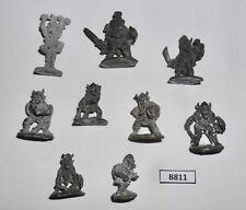 Citadel Pre socle Speciality Set 4 SS4 Goblin Raiding Party x9 1982 B 811