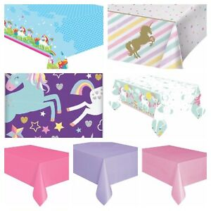 Unicorn Party Tablecover    Unicorn Tablecloth   Choice of Designs
