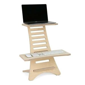 Adjustable Standing Desk, Sit Stand Desk, Workstation Desk for Home Office