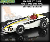 Scalextric C3403 Masterati 250F - Jo Bonnier at Pescara GP 1957 - slot car