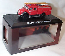 Atlas Fire Truck Collection Magirus-Deutz Mercur approx 1-72 Scale New boxed