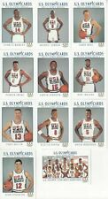 1992 IMPEL OLYMPIC HOPEFULS DREAM TEAM CARDS 11 CARD SET JORDAN, PIPPEN, BIRD ++