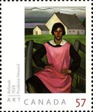 Canada   # 2395  ART CANADA - PRUDENCE HEWARD  VF-NH  2010  Bright Pristine Gum