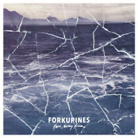 Forkupines ‎– Here, Away From LP * White Vinyl * Post-Punk, Emo, Pop Punk NEW
