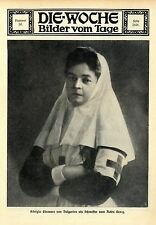 Königin Eleonore von Bulgarien als Rote-Kreuz Schwester 1912