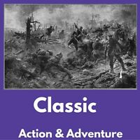 ACTION & ADVENTURE e-Book Collection Kindle eReader Nook Kobo|FREE BONUS|Data CD