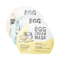 TOO COOL FOR SCHOOL / Egg Cream Mask (2sheets) / Free Gift / Korean Cosmetics