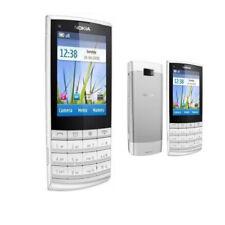 White Original Nokia X3-02 3G WCDMA 5MP Bluetooth Unlocked Cellphone Bar Style