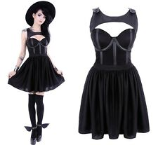 Restyle Gothic Kleid Rockabilly Tainted Love Dress Nugoth Pin Up Gothabilly wGT