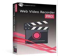 AVANQUEST WEB VIDEO RECORDER PROFESSIONAL nuovo