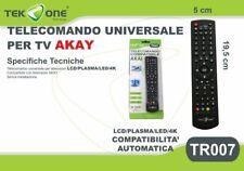 Telecomando Universale Tv Akai TeKone Tr007 Universal Remote Control hsb