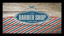 Barber Shop Barre Tapis Counter Tapis Barbiers Salon Coiffure Rustique 1038