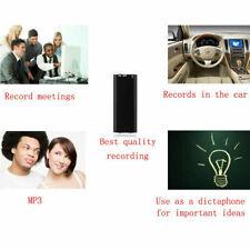 Mini Spy Recorder Digital Voice Audio Recording Store Device 96 Hours 8GB US