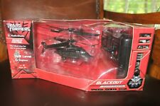 Transformers Blackout Infrared Remote Control Helicopter by Radio Shack 2007 NIB