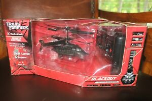 Transformers Blackout Infrared Remote Control Helicopter Radio Shack 2007