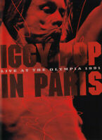 DVD Iggy Pop – In Paris - Live At The Olympia 1991 GERMANY 2007