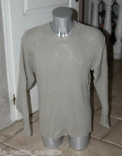 bel maglione di cotone camel TIMBERLAND taglia XL molto grande M