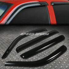 For 08-12 Jeep Liberty Kk Smoke Tint Window Visor Shade/Sun Wind/Rain Deflector (Fits: Jeep)