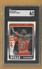 Michael Jordan 1988-89 Fleer #17 SGC 6--Bulls