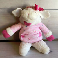 "A69 Vintage Sharri Lewis Baby Lamb Chop Puppet Plush! 12"" Stuffed Toy Lovey"