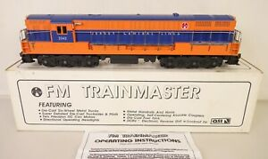 CUSTOM TRAINS #SA-1003 JERSEY CENTRAL FM TRAINMASTER DIESEL-NEW IN OB!