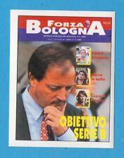 BOLOGNA 96/97 - EDILAND -Figurina n.40- COPERTINA RIVISTA FORZA BOLOGNA -NEW