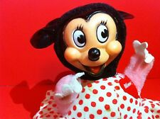 DISNEY MINNIE MOUSE TOY VINTAGE GUND ROLY POLY CHIME DOLL DISNEY PRODUCTIONS
