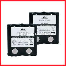 2x 800mAh Rechargeable Battery Packs For Motorola TLKR T5 T6 T7 T8 T60 T61 T80