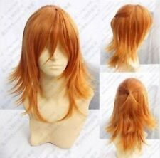 Jinguuji Ren New Long Cosplay Orange Blonde Wig+free wig cap H256