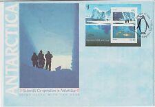 (K3-75) 1990 AU $1.51 M/S scientific cooperation in Antarctica