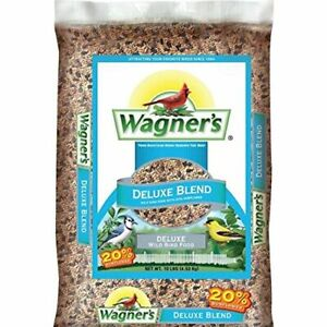 Wagner's 13008 Deluxe Wild Bird Food 10-Pound Bag Basic
