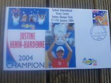 Justin Henin Hardenne Tennis Adidas Int Win Cover 2004