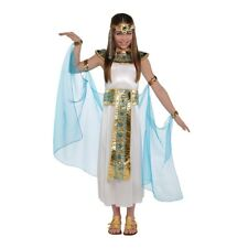 Childrens Kids Girls Queen Cleopatra Egyptian Toga Fancy Dress Costume Outfit 6-8 Years