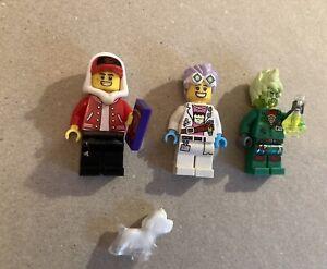 Lego Hidden Side J.B.'s Ghost Lab (70418) Figures