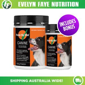 ROSE-HIP VITAL Canine Powder 500g | Joint Health | Rosehip + FREE Bonus 150g