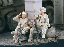 Verlinden 1:35 2342 2 US Soldaten machen eine Pause , Irak